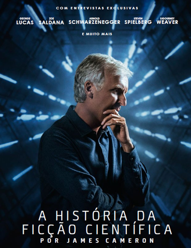 James Cameron comanda a A História da Ficção Científica por James Cameron, no AMC (Foto: Divugação/AMC)