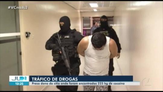 Polícia prende dono de sítio onde foram encontrados 225 kg de cocaína no Pará