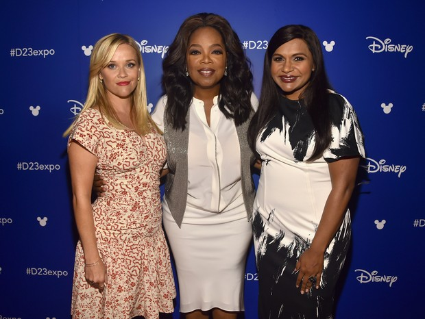 Reese Witherspoon, Oprah Winfrey e Mindy Kailing  (Foto: Getty)