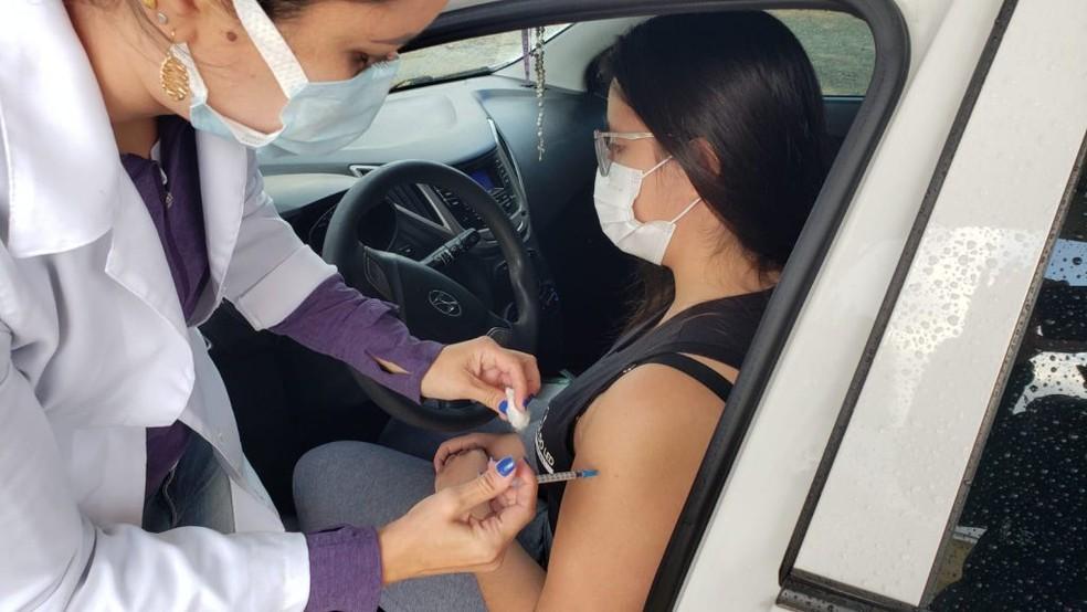 Ponta Grossa abre agendamento de vacinação para jovens entre 22 a 25 anos, nesta quarta (1º) — Foto: Prefeitura de Sorocaba/Divulgação