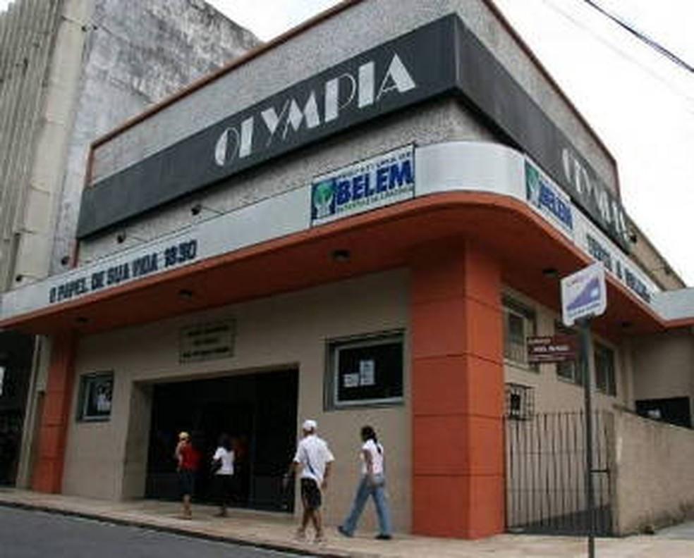 Cine Olympia, em Belém — Foto: Cristino Martins/O Liberal
