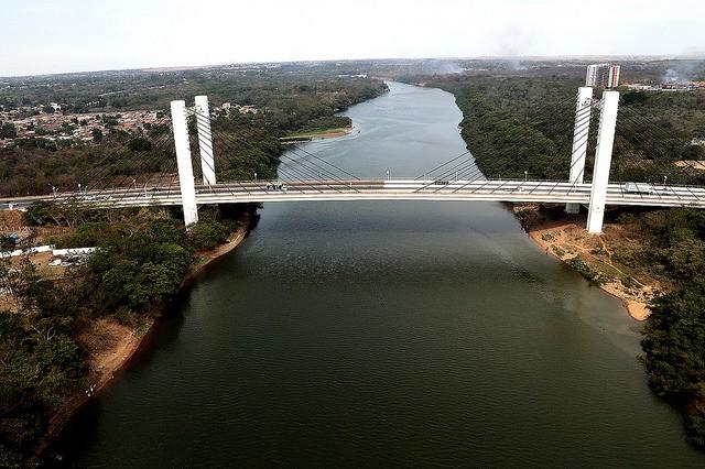 Nível do Rio Cuiabá diminui com período de estiagem e pode prejudicar captação de água