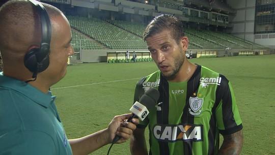 Rafael Moura se diz aliviado por gol e espera ser mais decisivo na reta final do Mineiro