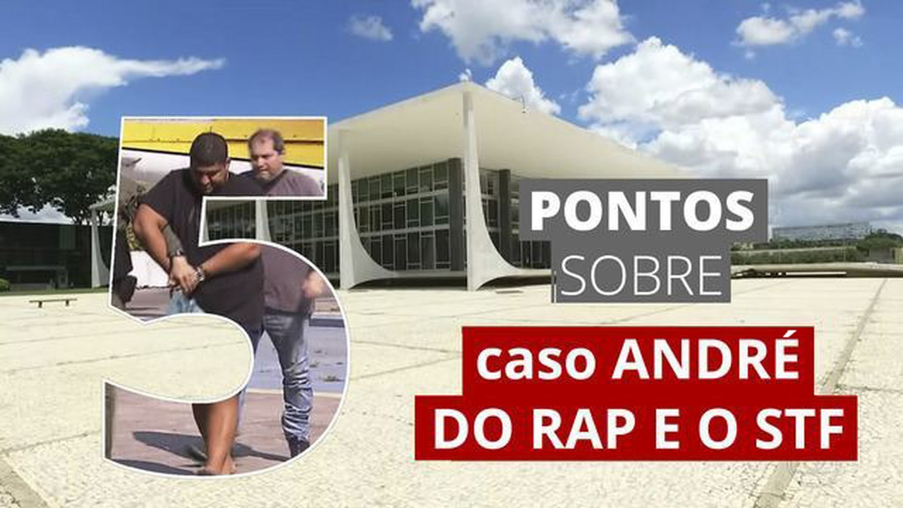 5 pontos para entender o caso André do Rap e o STF