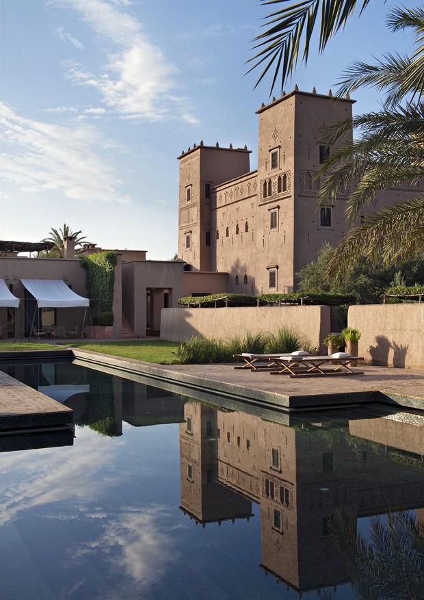 Hotel Dar Ahlam, na região de Ouarzazate (Foto: Divulgação)