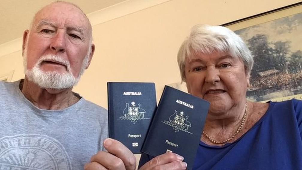 David e Margaret Sparks — Foto: Arquivo pessoal/BBC