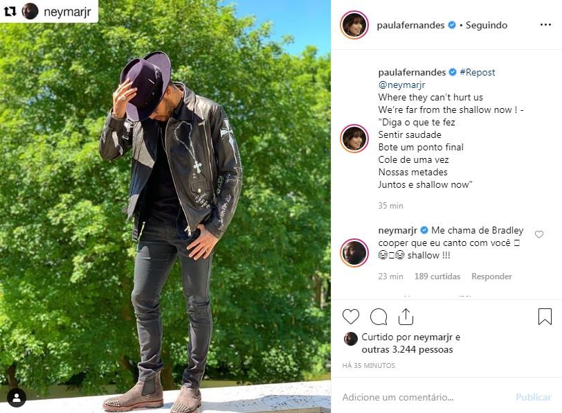 Post de Paula Fernandes (Foto: Reprodução: Instagram)