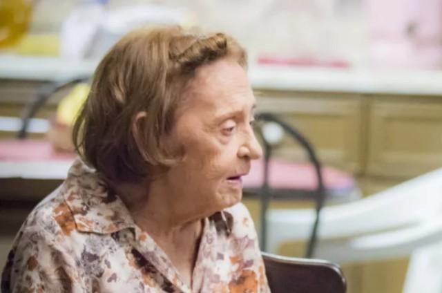 Laura Cardoso, a Matilde de 'A dona do pedaço' (Foto: TV Globo)
