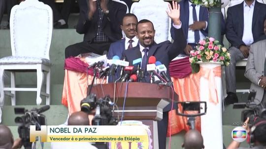 Primeiro-ministro da Etiópia ganha o Nobel da Paz