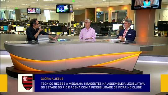 """Redação debate imagem de Jorge Jesus na Europa: """"É maior do que quando chegou no Flamengo?"""""""