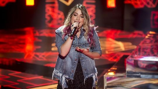 Isa Guerra comenta surpresa ao vencer duelo com Priscila Tossan na Semifinal do 'The Voice Brasil'
