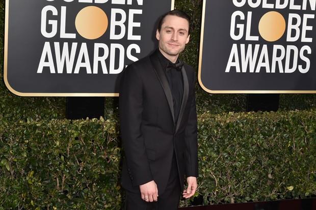 Kieran Culkin, indicado como Melhor Ator Coadjuvante em Série de TV, Minissérie ou Filme para TV por Succession, série da HBO (Foto: Getty Images)