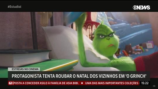 """""""O Grinch"""" chega às telonas do cinema e tenta roubar o Natal dos vizinhos"""