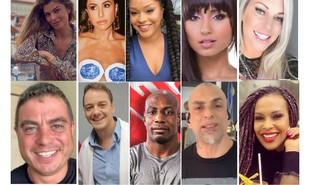 Participantes mais marcantes das edições 3, 4 e 5 do 'Big Brother Brasil' | Reprodução/redes sociais e TV Globo