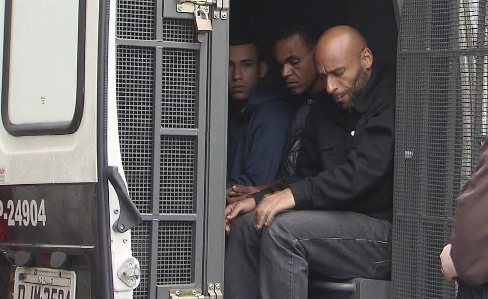 Edinho já havia sido detido outras quatro vezes (Foto: Reprodução/TV Tribuna)