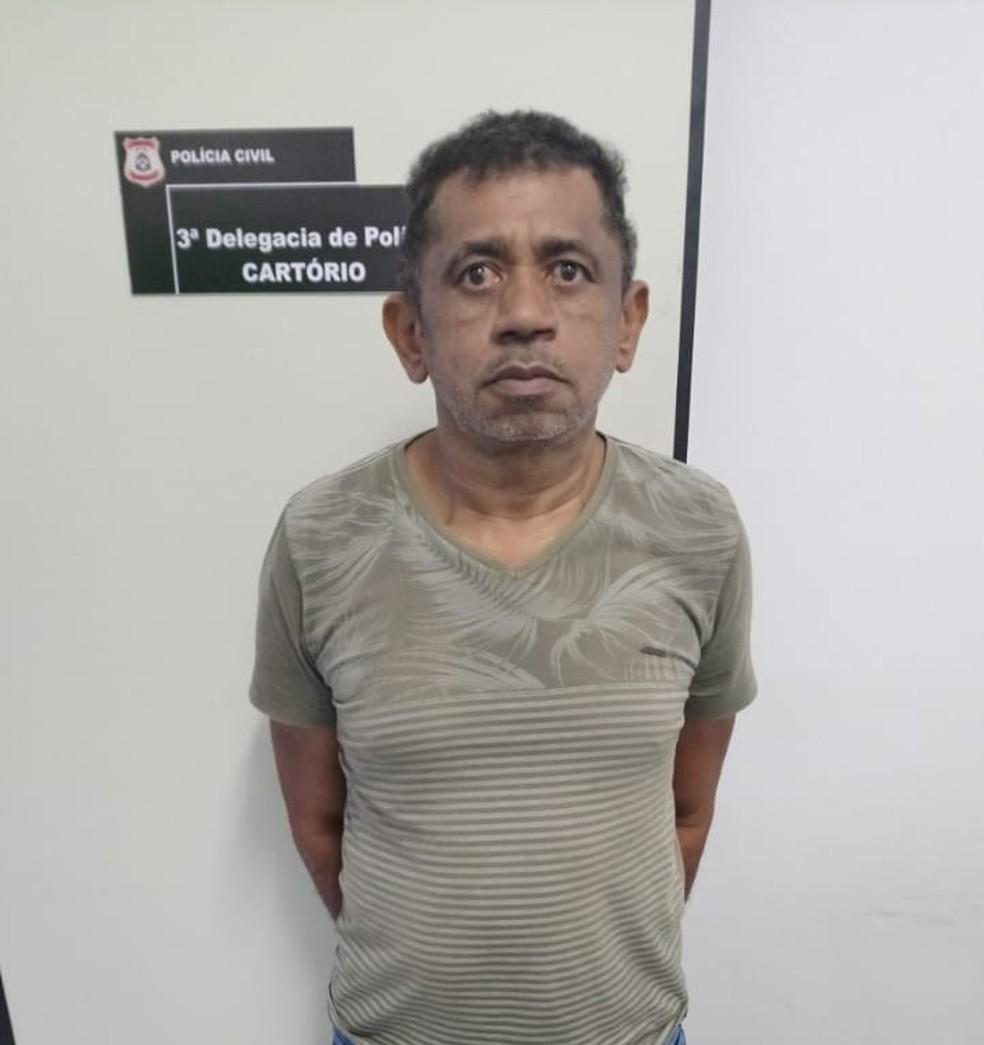 Homem foi condenado pelo crime de tortura e estava foragido da Justiça (Foto: Divulgação/Polícia Civil)
