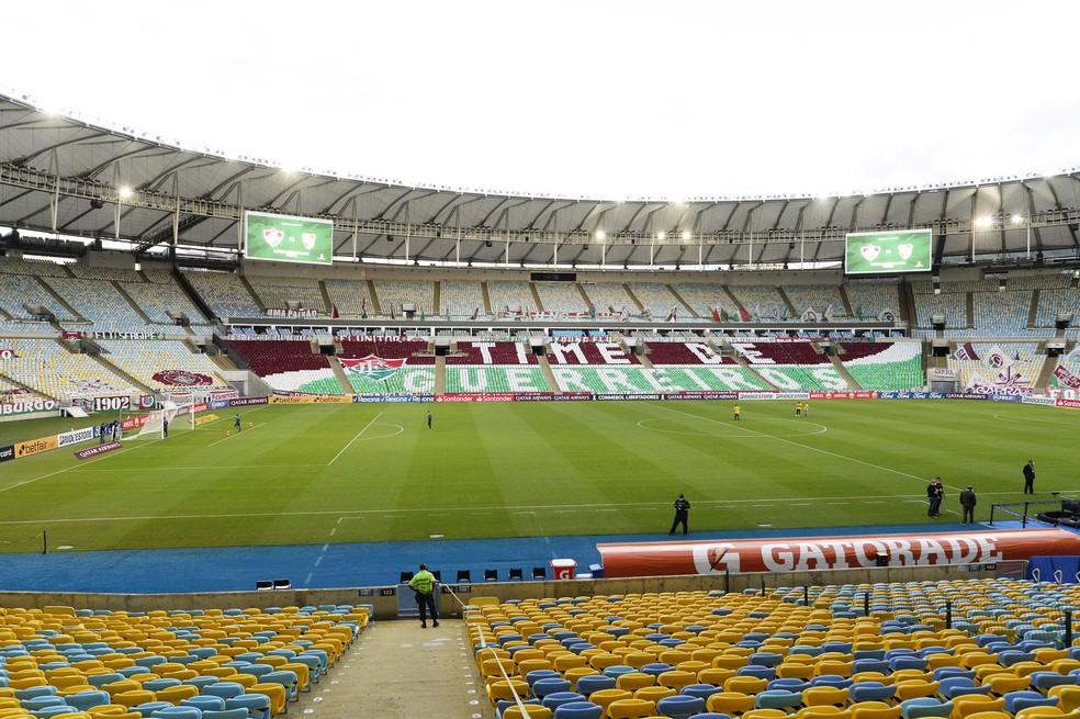 Maracanã será o palco dos próximos dois jogos do Fluminense na Libertadores — Foto: André Durão