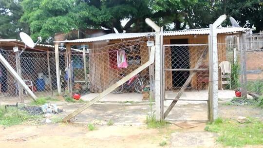 Ocupação de 'esqueleto' de hospital completa 13 anos e hoje abriga 300 famílias em Porto Alegre