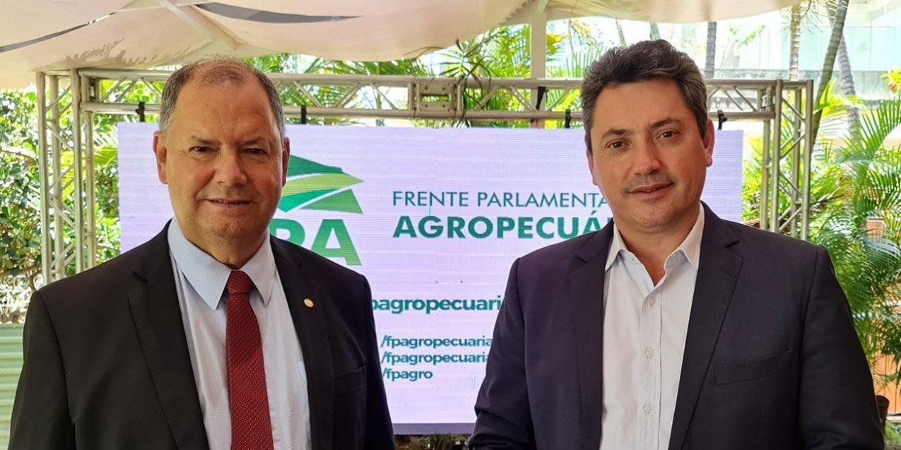 Alceu Moreira e Sérgio Souza, da FPA (Foto: FPA/Divulgação)