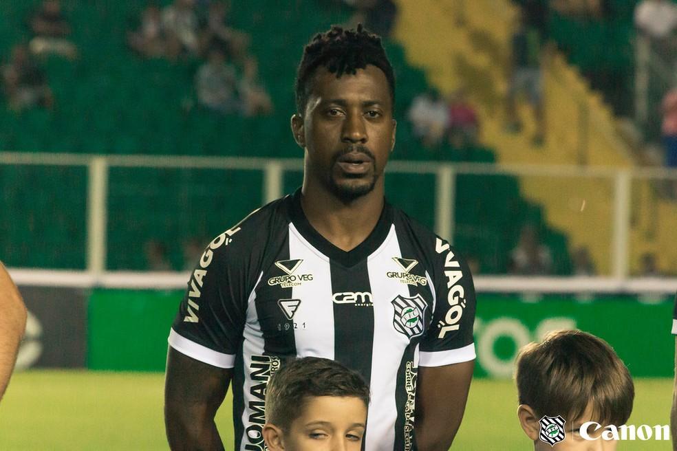 Volante estava no Figueirense até a temporada passada — Foto: Patrick Floriani / FFC