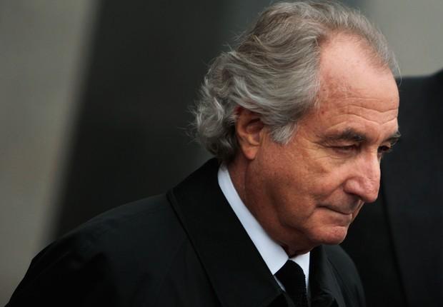 Bernard Madoff: após fraude financeira, 150 anos de prisão (Foto: Getty Images)