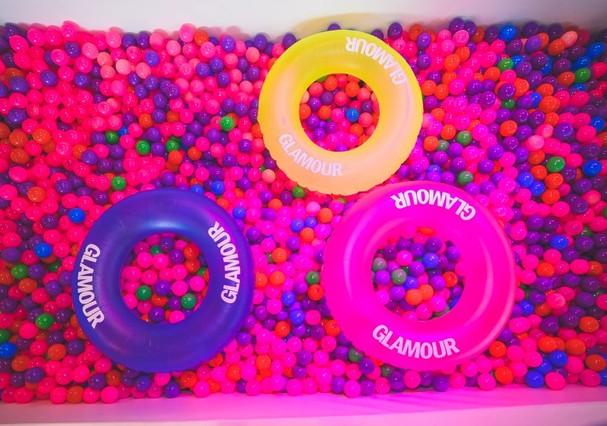 Ambiente do Glamour Beauty Festival! (Foto: Ale Virgilio)