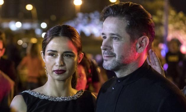 Murilo Benício e Nanda Costa em cena como Raul e Érica em 'Amor de mãe' (Foto: TV Globo)