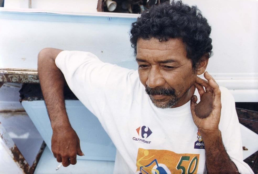 Pai de Leide das Neves, Ivo resistiu à contaminação, mas não se conformava com a morte da filha e morreu anos depois (Foto: Carlos Costa/ O Popular)