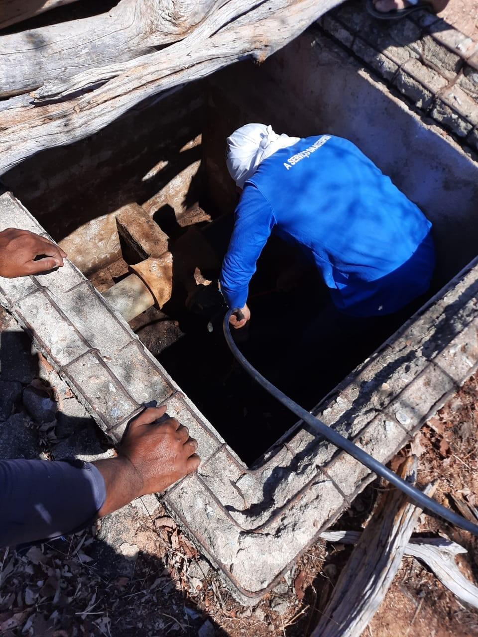 Operação prende duas pessoas por desvio ilegal de água em Jacobina do Piauí
