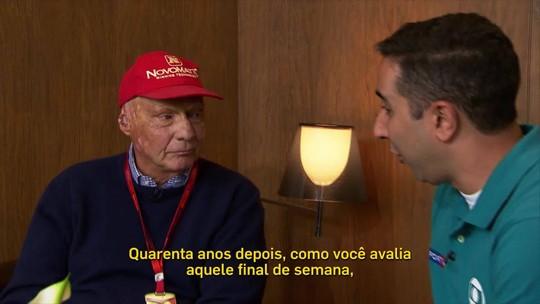 Niki Lauda: não foi sobrevida, foi supervida