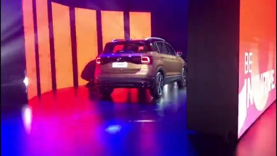 Volkswagen mostra seu 1° SUV compacto, o T-Cross, no Brasil