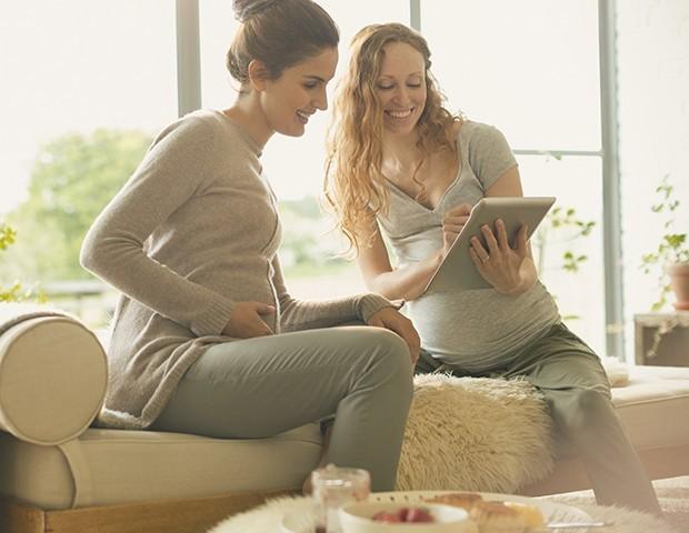 Fazer amizade com outras mães é o objetivo do aplicativo Peanut (Foto: ThinkStock)
