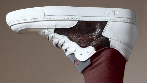 Designer cria tênis com resíduos da indústria de alimentos  (Foto: Reprodução)
