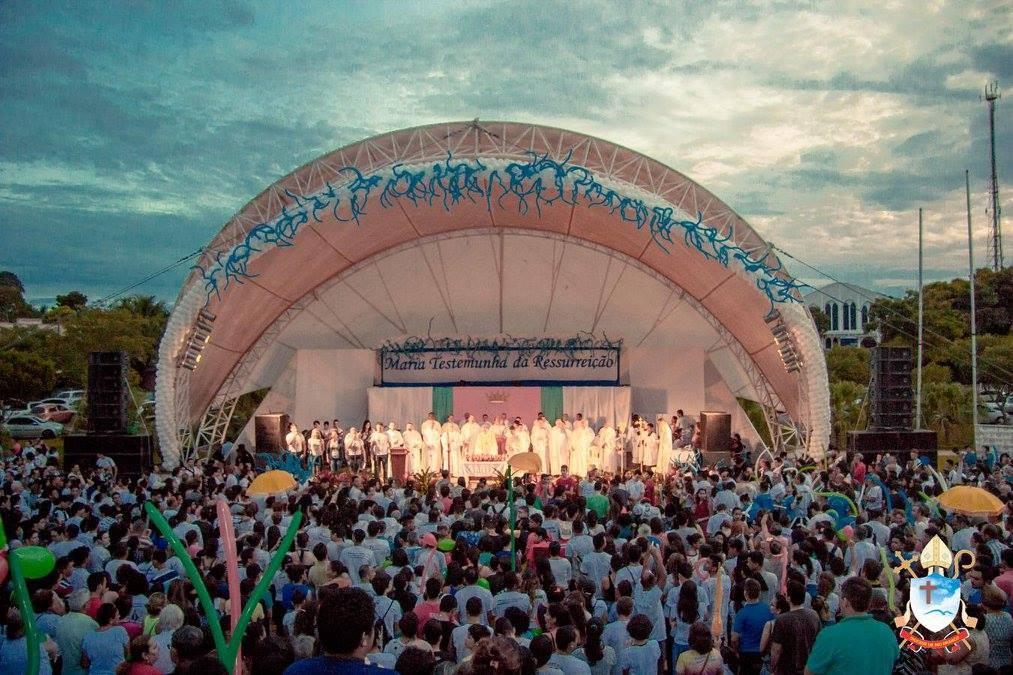 Diocese espera reunir cerca de 5 mil fiéis em missa do Alvorecer em Rio Branco - Noticias