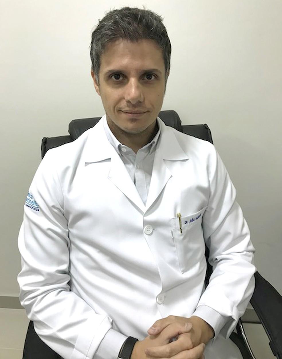 O neurologista, Dr. João Luiz, destaca a importância de praticar esportes independente da condição física (Foto: João Luiz Parra Marinello)