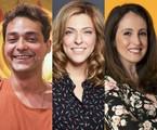 Eduardo Sterblitch, Júlia Rabello e Luana Martau | TV Globo e Juliana Coutinho