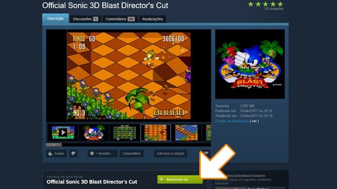 Sonic 3D do Mega Drive ganha nova versão após 20 anos