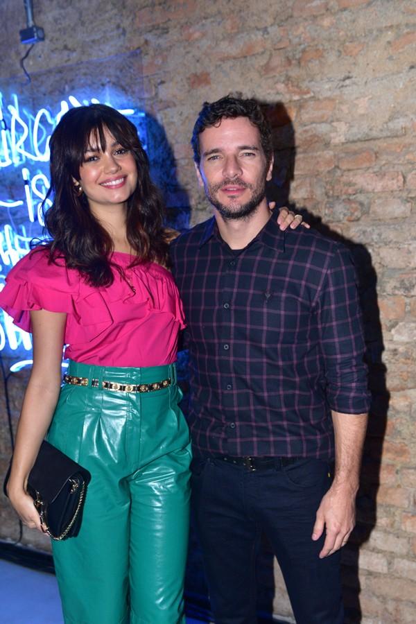 Sophie Charlotte e o marido, Daniel de Oliveira (Foto:  Leo Franco / AgNews)