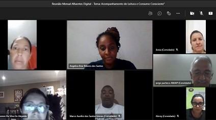 Lideranças comunitárias participam do 'Afluentes Digital'