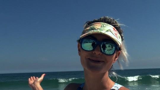 Laura Keller ensina como manter o bumbum durinho no verão