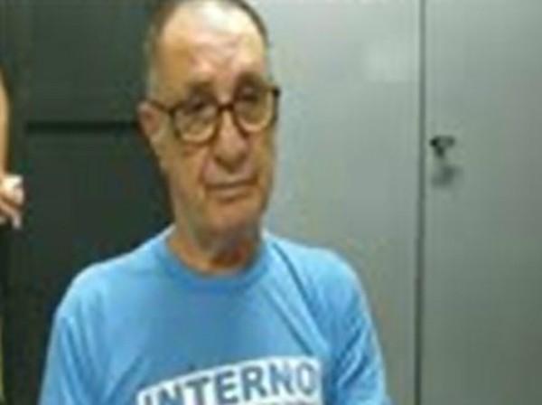 Empresário Jamil Name está preso na penitenciária federal de Mossoró, no Rio Grande do Norte — Foto: Reprodução/G1 MS