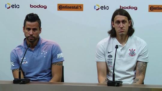 Fábio e Cássio descartam favoritismo na decisão da Copa do Brasil entre Cruzeiro e Corinthians