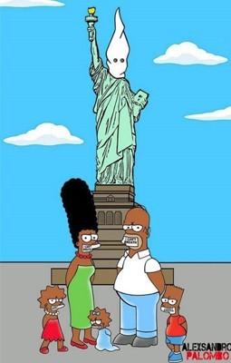 Artista Cria Simpsons Negros Contra Racismo Nos Eua Pop Arte
