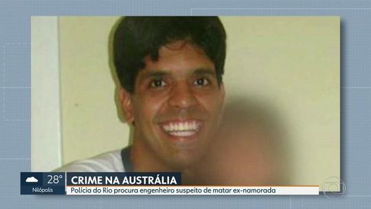 Polícia do RJ busca brasileiro acusado de matar ex-namorada na Austrália