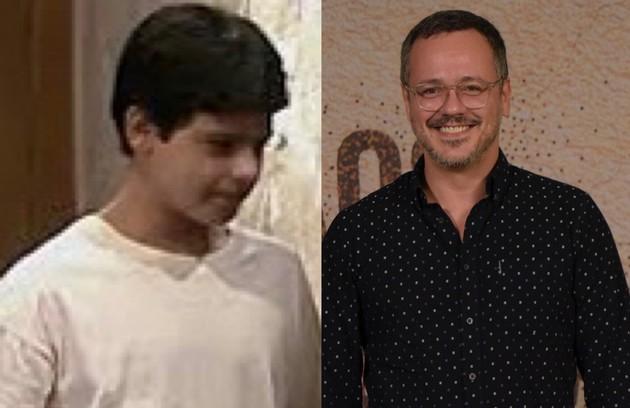Danton Mello interpretou Cupertino, o filho caçula de Perpétua. Aos 45 anos, o ator está escalado para 'Um lugar ao Sol', novela de Licia Manzo (Foto: TV Globo)