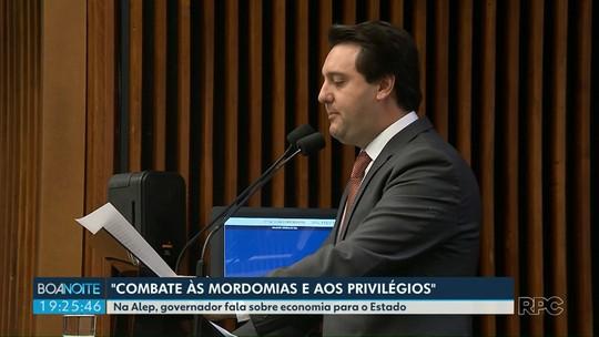 Ratinho Júnior apresenta pacote de medidas de economia para Governo do Estado