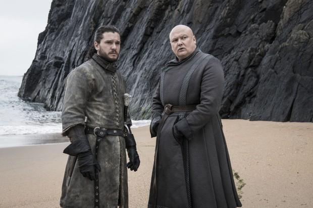 Varys queria por que queria Jon Snow no trono. Era para tanto? (Foto: reprodução)