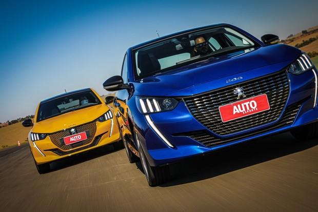 Novo Peugeot 208 flex já foi lançado, mas o elétrico virá no ano que vem (Foto: Rafael Munhoz/Autoesporte)