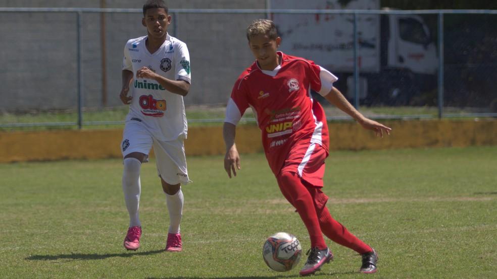 Rio Branco-ES x Capixaba, pelo Campeonato Capixaba Sub-20 2021  — Foto: Wagner Chaló