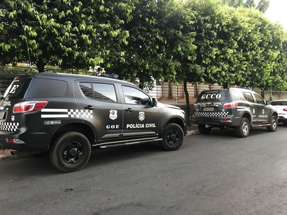 Operação Etanol (Foto: Cristina Mayumi/TV Centro América)